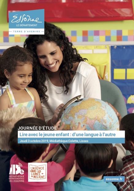 """Journée d'étude """" Lire avec le jeune enfant : d'une langue à l'autre"""""""