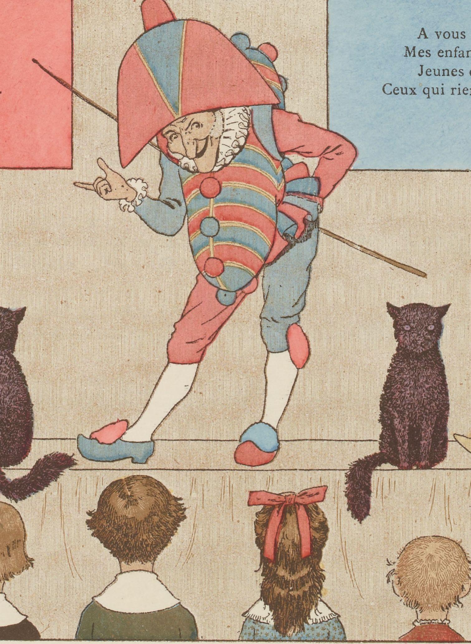 Vieilles chansons et rondes pour les petits enfants, ill. Boutet de Monvel, 1884