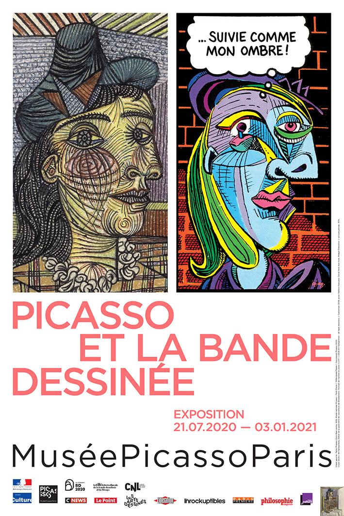 """Exposition """"Picasso et la bande dessinée"""""""