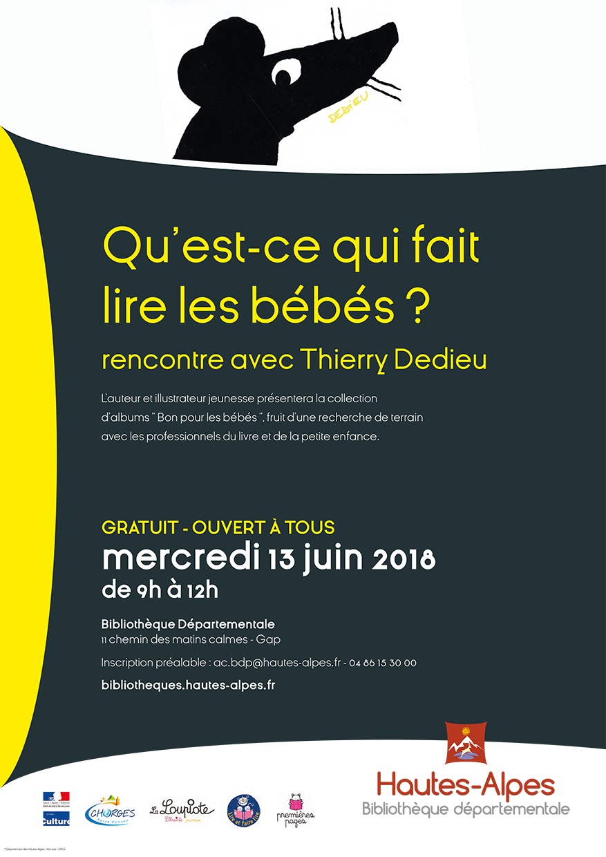 Rencontre avec Thierry Dedieu bdp Hautes-Alpes
