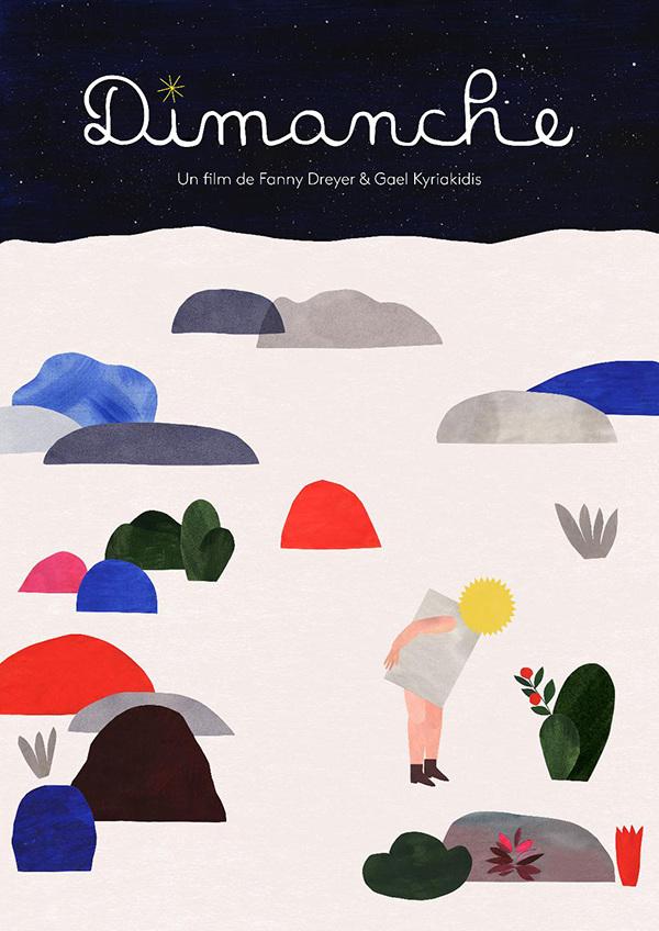 Affiche film d'animation Dimanche