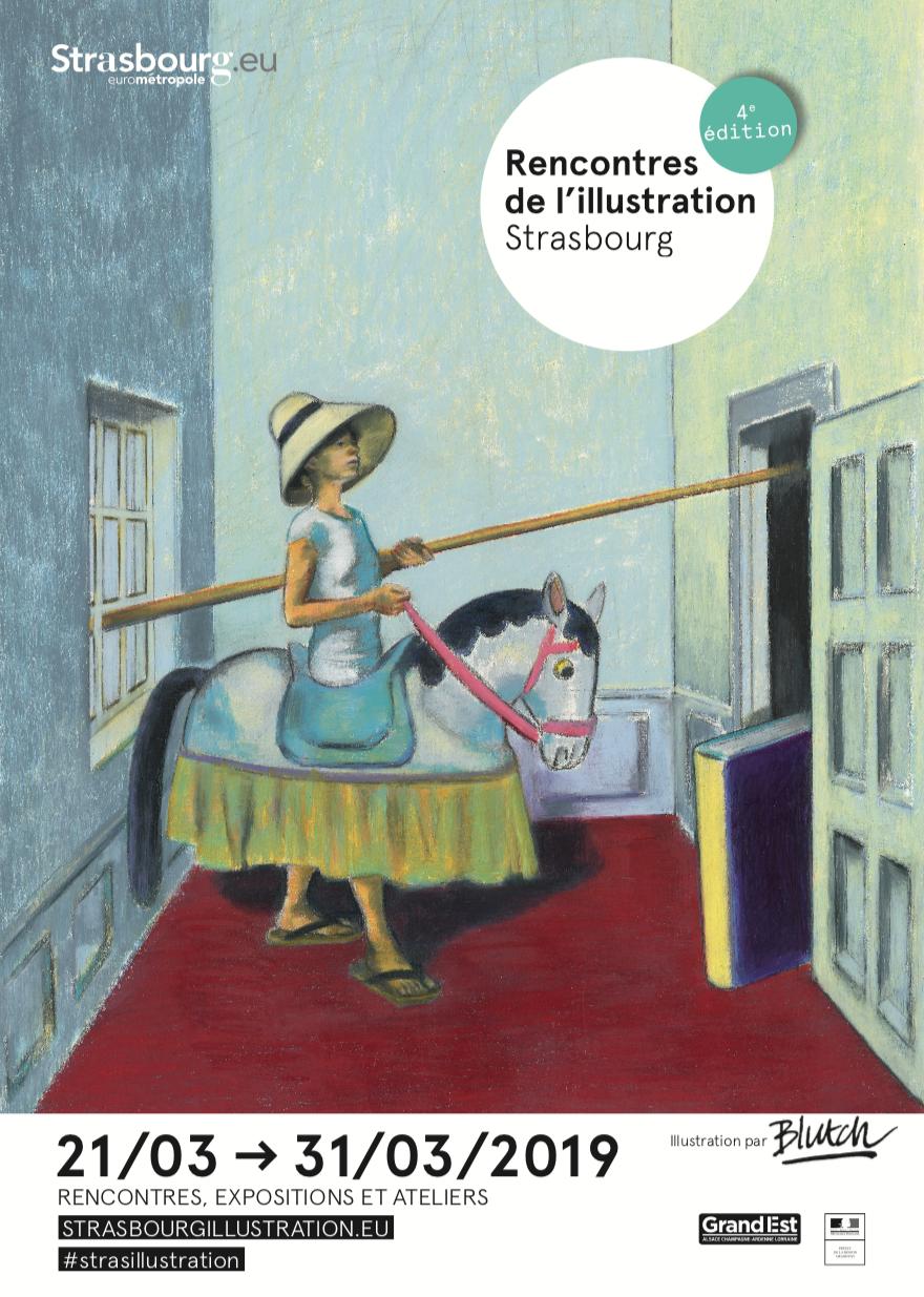 Rencontres de l'illustration Strasbourg 4ème édition