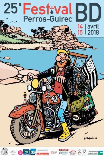 25ème Festival de la BD de Perros-Guirec
