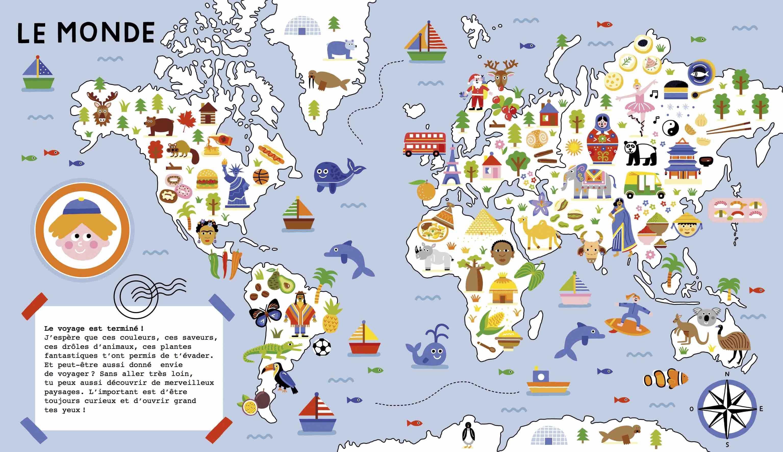 """Exposition """"Mon atlas, promenade autour du monde"""""""