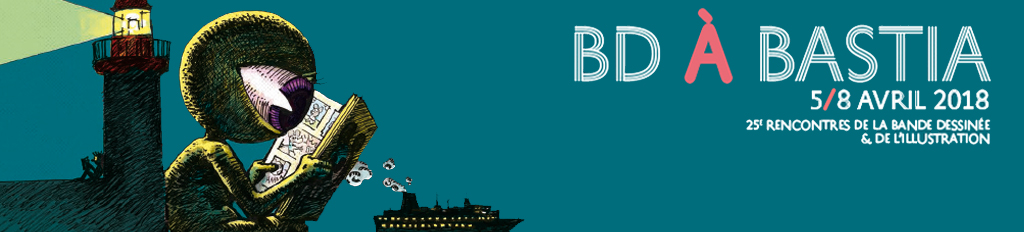 Affiche BD à Bastia