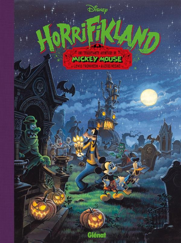 Horrifikland.une terrifiante aventure de Mickey Mouse