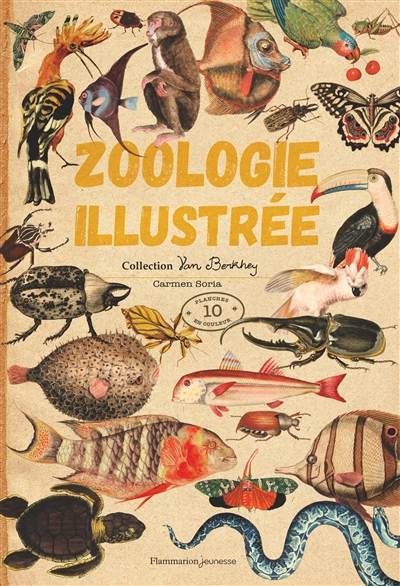 Zoologie illustrée.collection Van Berkhey