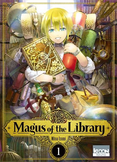 Magus of the library. 1