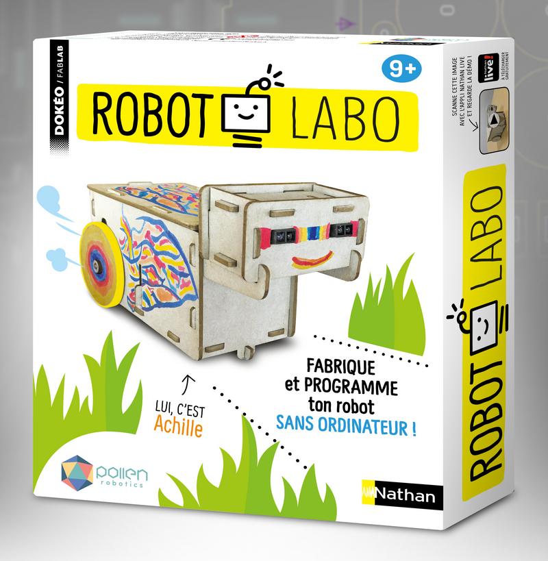 Robot Labo : fabrique et programme ton robot sans ordinateur : 9+