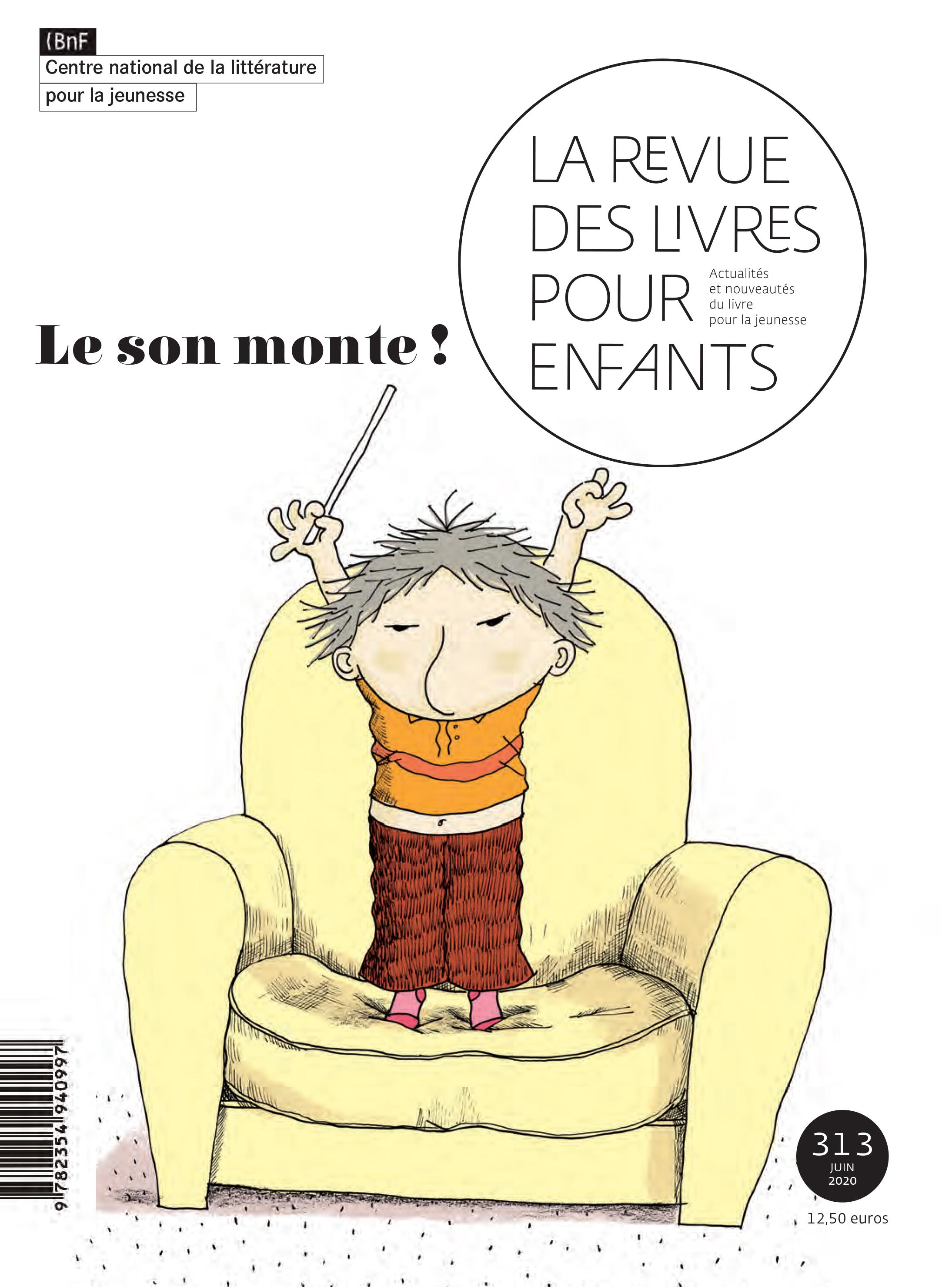 © Illustration de Ronan Badel pour Émile en musique, éditions Gallimard Jeunesse- Giboulées,2015