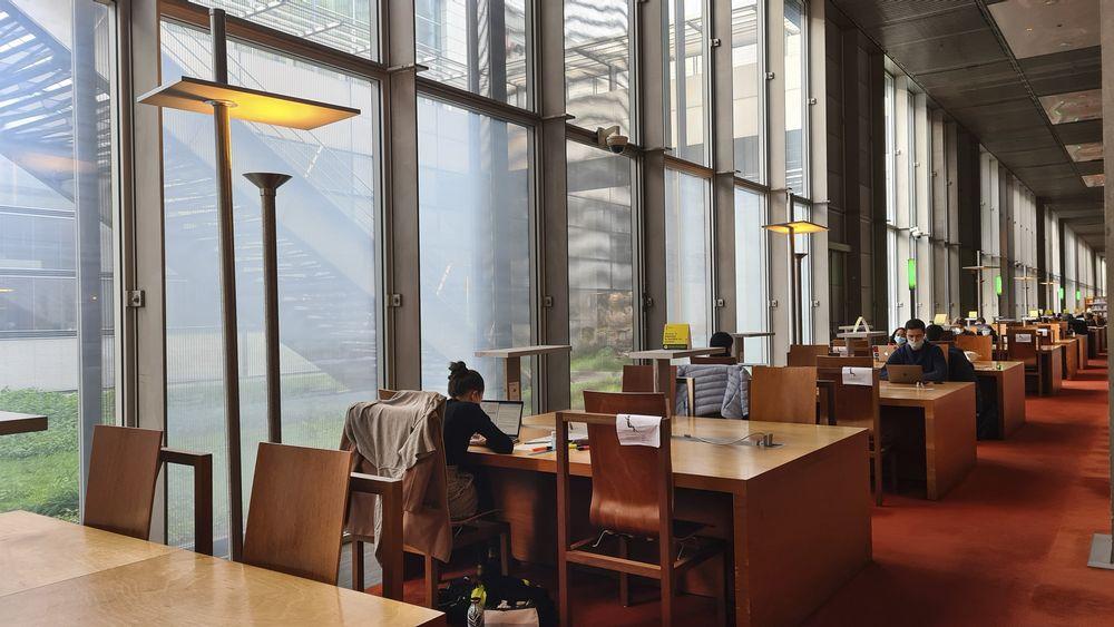 salle de lecture de la bibliothèque tous publics © Béatrice Lucchese / BnF