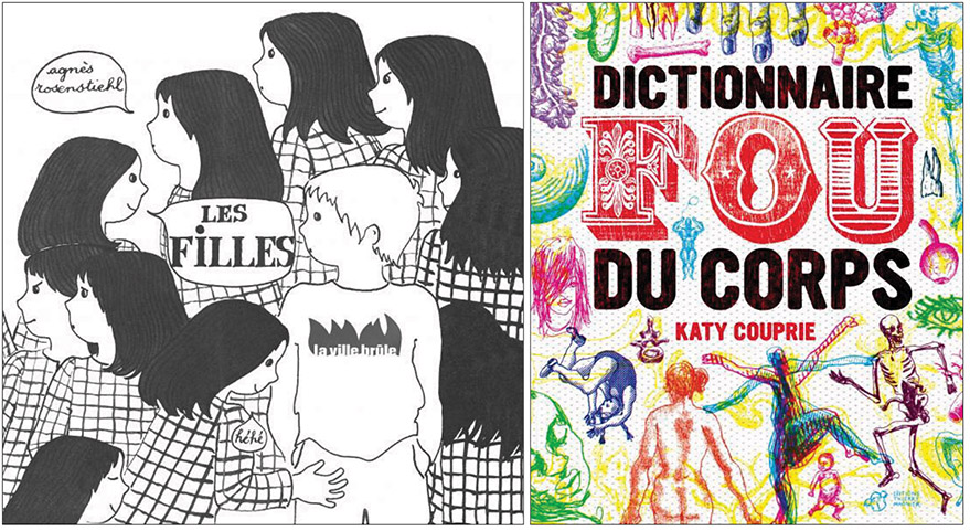 Agnès Rosenstiehl, Les filles et Katy Couprie, Dictionnaire fou du corps
