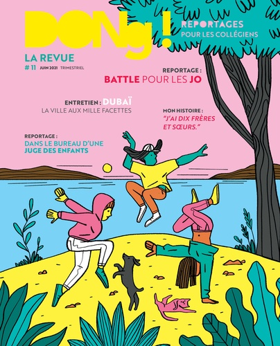 Couverture : Dong ! n°11, juin 2021