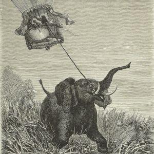 """Exposition """"À l'aventure ! Edouard Riou, illustrateur de Jules Verne"""""""