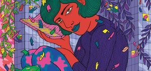 Illustration de Fanny Michaëlis pour le magazine Chroniques (n°89) - 2020 - BnF