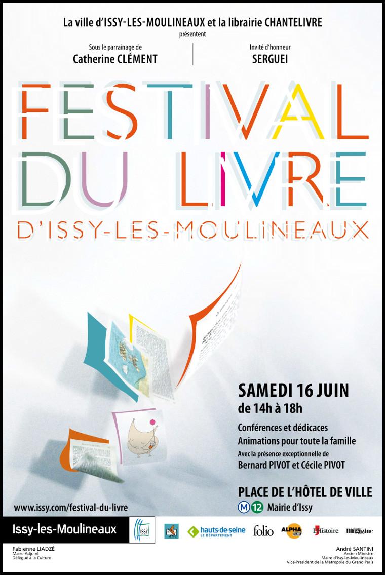 6ème Festival du livre d'Issy-les-Moulineaux