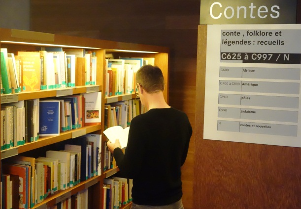 Fonds Contes Salle I Bibliothèque François Mitterrand