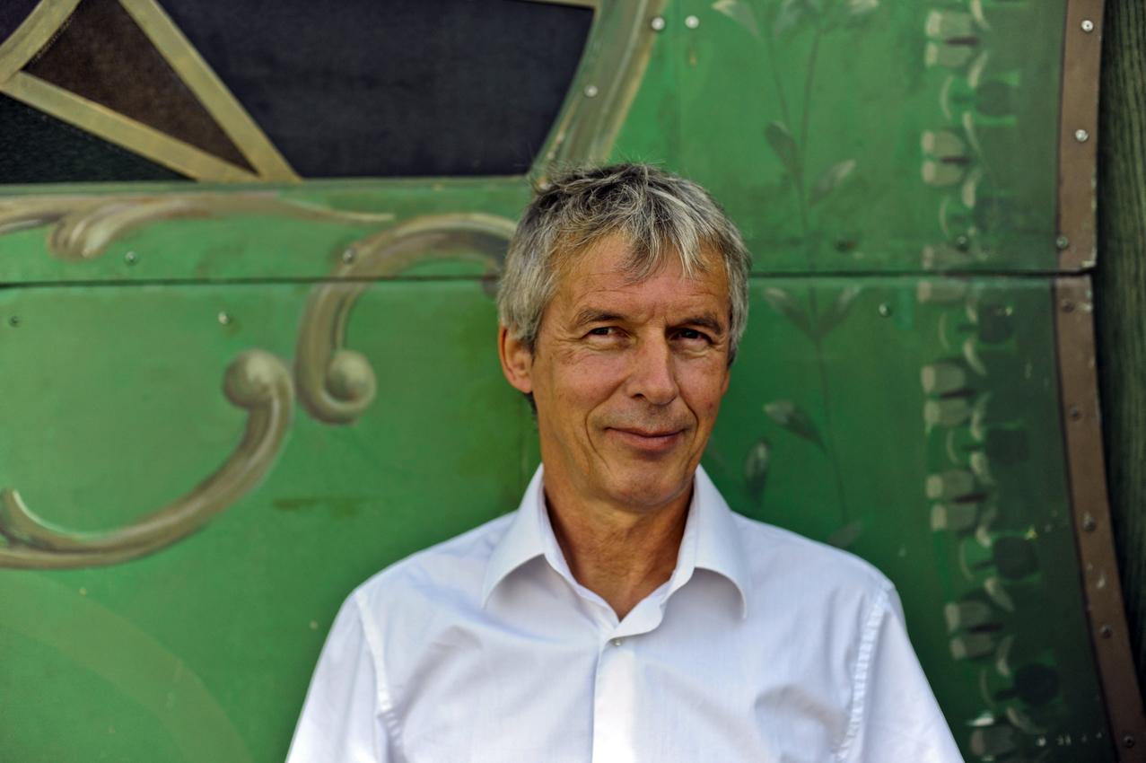 Photographie de Jean-Claude Mourlevat