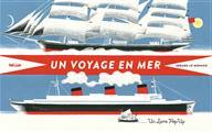 Couverture : Un voyage en mer de Gérard Lo Monaco