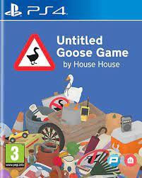 Couverture : Untitled Goose Game sur PlayStation 4
