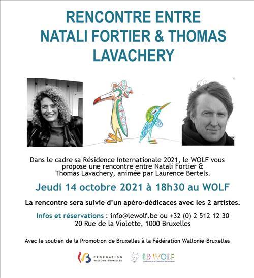 Rencontres et atelier avec Natali Fortier
