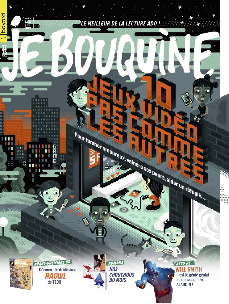 Couverture : Je Bouquine (n°424, juin 2019)