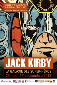 9e Biennale du 9e art : Jack Kirby et la galaxie des super héros