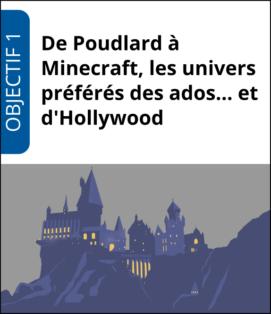 """Formation """"De Poudlard à Minecraft, les univers préférés des ados… et d'Hollywood"""""""