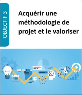 Formation Acquérir une méthodologie de projet et le valoriser