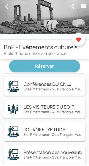 Réservation Affluences BnF - Evènements culturels - Bibliothèque nationale de France