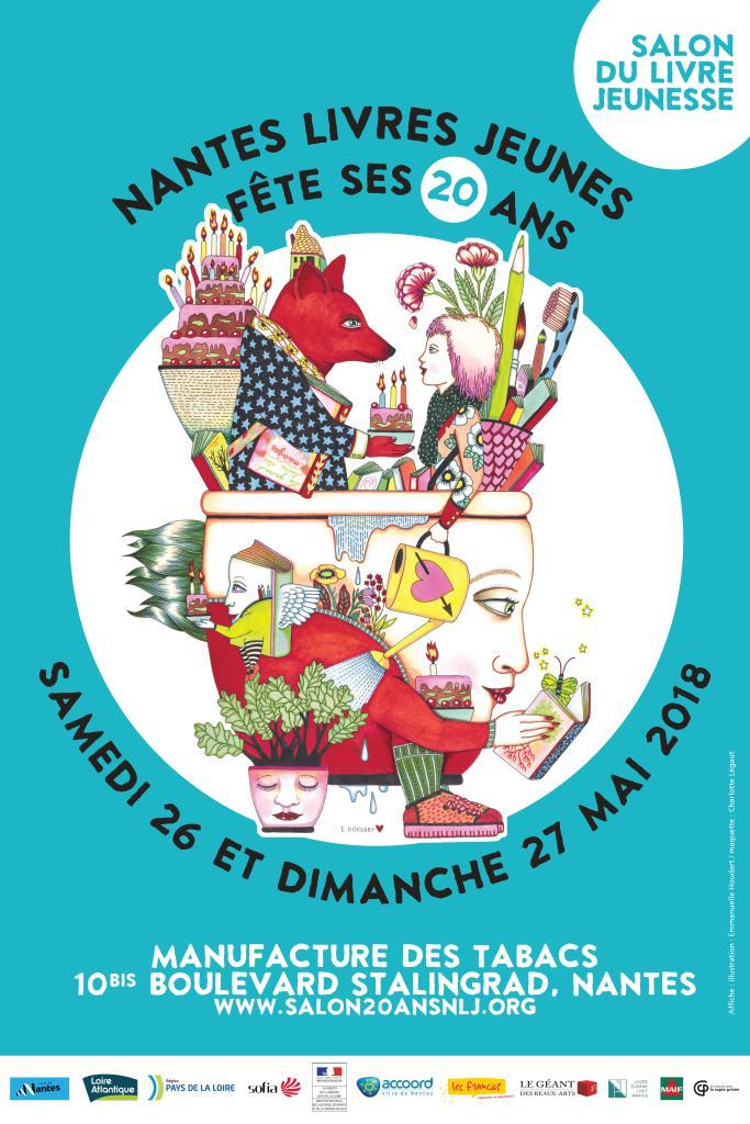 Salon du livre jeunesse 2018 : les 20 ans de Nantes Livres Jeunes