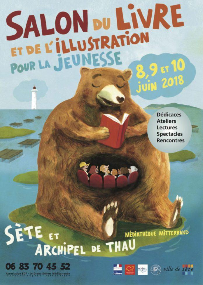 1er Salon du livre, de l'illustration et des images animées pour la jeunesse Sète et Archipel de Thau