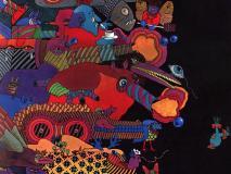 Illustration de Nicole Claveloux pour Alala : les télémorphoses, conte de Guy Monreal