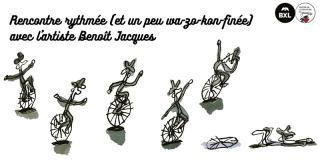 Rencontre rythmée avec l'artiste Benoît Jacques