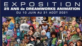 """Exposition """"25 ans de Dreamworks animation"""""""