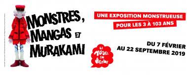 "Exposition ""Monstres, mangas et Murakami"""