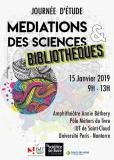 Journée d'études Médiations des sciences & bibliothèques