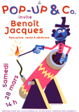 Pop-up and Co invite Benoît Jacques !