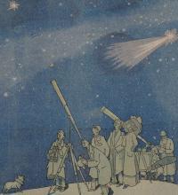 La planète Mars approche !, Louis Marcoussis,  Le sourire, 1909