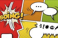 Bulles de bandes dessinées