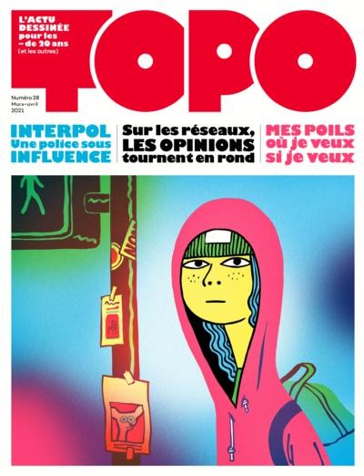 Couverture : Topo n° 28, mars-avril 2021