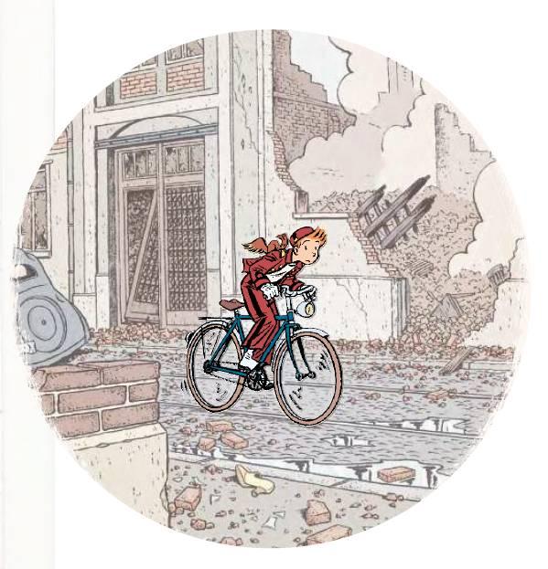 Spirou, la fin de l'insouciance, une exposition d'Emile Bravo